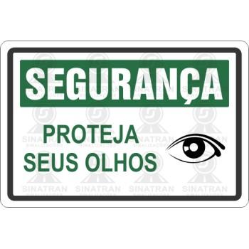 982b1e97a8a75 Placa Proteja seus olhos